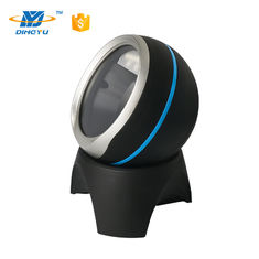 Gelar Adjustable Desktop Barcode Scanner, 2D Omni Directional Barcode Reader