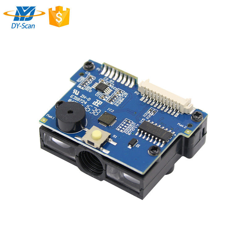 USB TTL RS232  PS2 1D CCD Barcode Reader Module 32 Bit CPU For IoT Machines